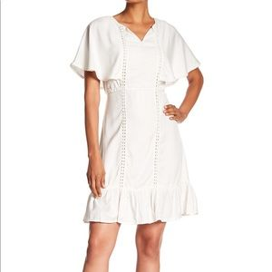 B Collection by Bobeau Cut Out Detail Day Dress